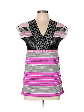 Missoni Short Sleeve Blouse Size 40 (IT)
