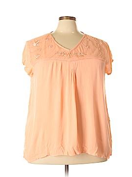 BocaBay Short Sleeve Blouse Size XXL