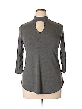 Gaze 3/4 Sleeve Top Size L
