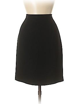Petite Sophisticate Denim Skirt Size 8