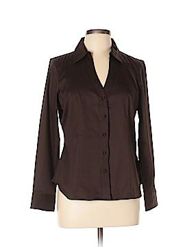 Talbots Long Sleeve Button-Down Shirt Size 12 (Petite)