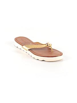 Coach Flip Flops Size 7