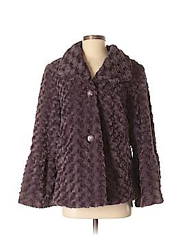 Pamela McCoy Faux Fur Jacket Size S