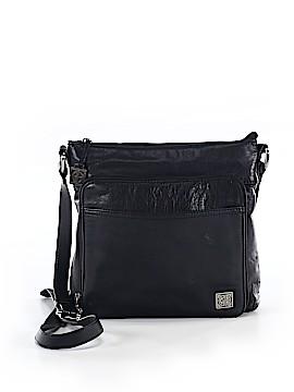 Gianni Bini Leather Crossbody Bag One Size