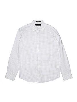 Michael Kors Long Sleeve Button-Down Shirt Size 14