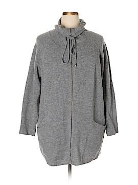 Ellen Tracy Wool Cardigan Size 1X (Plus)