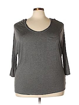 Cynthia Rowley for T.J. Maxx 3/4 Sleeve Top Size 2X (Plus)