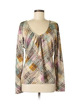Talbots Long Sleeve Silk Top Size M