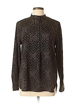 Ralph Lauren Long Sleeve Blouse Size L (Petite)