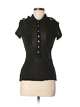 Zac Posen Short Sleeve Button-Down Shirt Size M