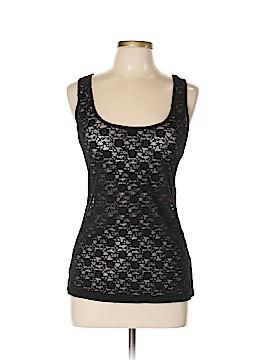 C & S Check & Stripe Sleeveless Top Size XL