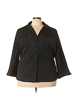 Avenue Long Sleeve Blouse Size 32 (Plus)