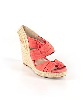 Ann Marino Wedges Size 10