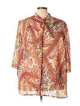 Maggie Barnes 3/4 Sleeve Blouse Size 28 - 26 (Plus)