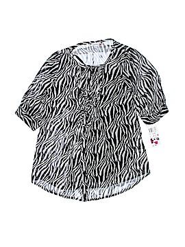Speechless Short Sleeve Blouse Size X-Large (Youth)