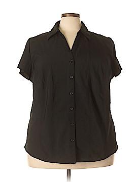 Style&Co Short Sleeve Blouse Size 24 (Plus)