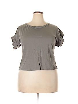 Dejavu Short Sleeve Top Size L