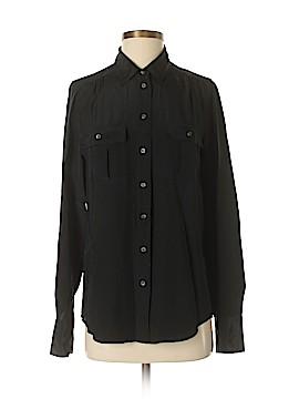 J. Crew Long Sleeve Silk Top Size 2 (Tall)