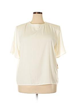 DressBarn Short Sleeve Blouse Size 20 (Plus)