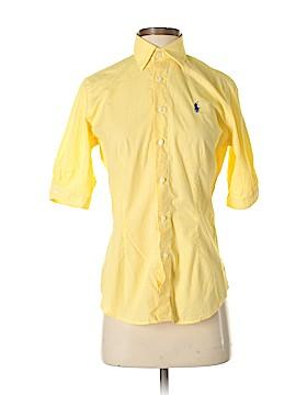 Ralph Lauren Sport Short Sleeve Button-Down Shirt Size 4