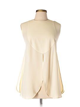 Giorgio Armani Sleeveless Silk Top Size 10