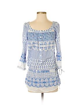 Moda International 3/4 Sleeve Blouse Size S