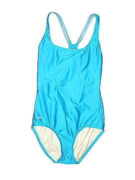 Speedo One Piece Swimsuit Size 8