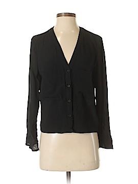 Topshop Long Sleeve Button-Down Shirt Size 4