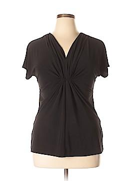 Chaus Short Sleeve Top Size XL