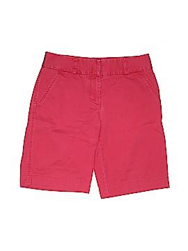 J. Crew Khaki Shorts Size 4 (Tall)
