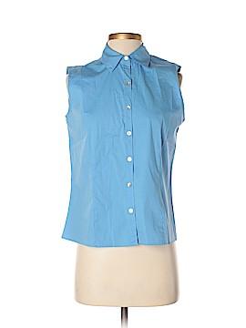 Rafael Sleeveless Button-Down Shirt Size S