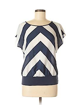 Ann Taylor Factory Short Sleeve Blouse Size M