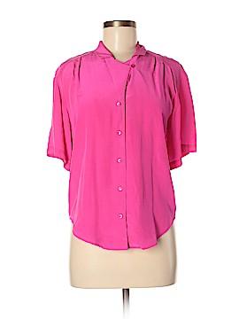 Argenti Short Sleeve Silk Top Size 6