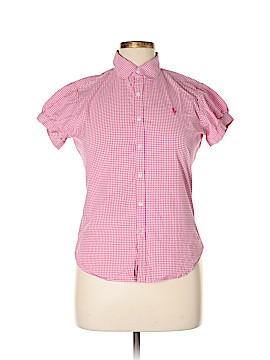Ralph Lauren Sport Short Sleeve Button-Down Shirt Size 14