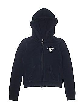 Abercrombie Zip Up Hoodie Size M (Kids)