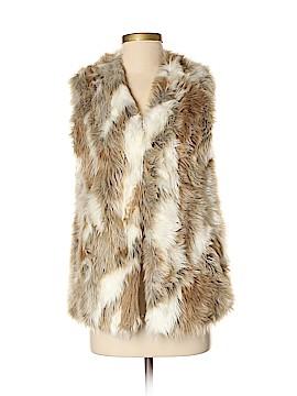 Adrienne Landau Faux Fur Vest Size XS