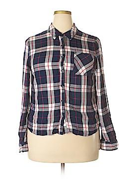 Como Vintage Long Sleeve Button-Down Shirt Size XL