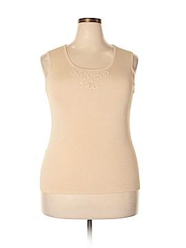 BCBGMAXAZRIA Sleeveless Top Size 1X (Plus)