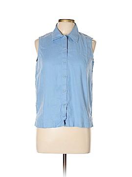 Jones New York Sport Sleeveless Button-Down Shirt Size 10