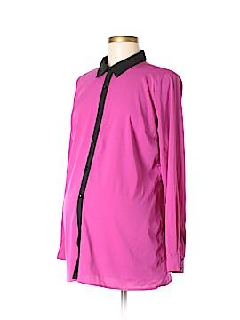 Reebok for Motherhood Maternity Long Sleeve Blouse Size M (Maternity)