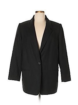 Sag Harbor Wool Blazer Size 16W