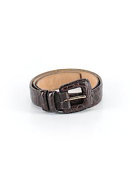 WCM New York Leather Belt Size L