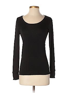 Winter Silks Long Sleeve Silk Top Size S
