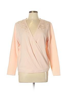 Catherine Malandrino Long Sleeve Blouse Size L