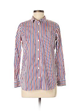J. Crew Long Sleeve Button-Down Shirt Size 4 (Petite)