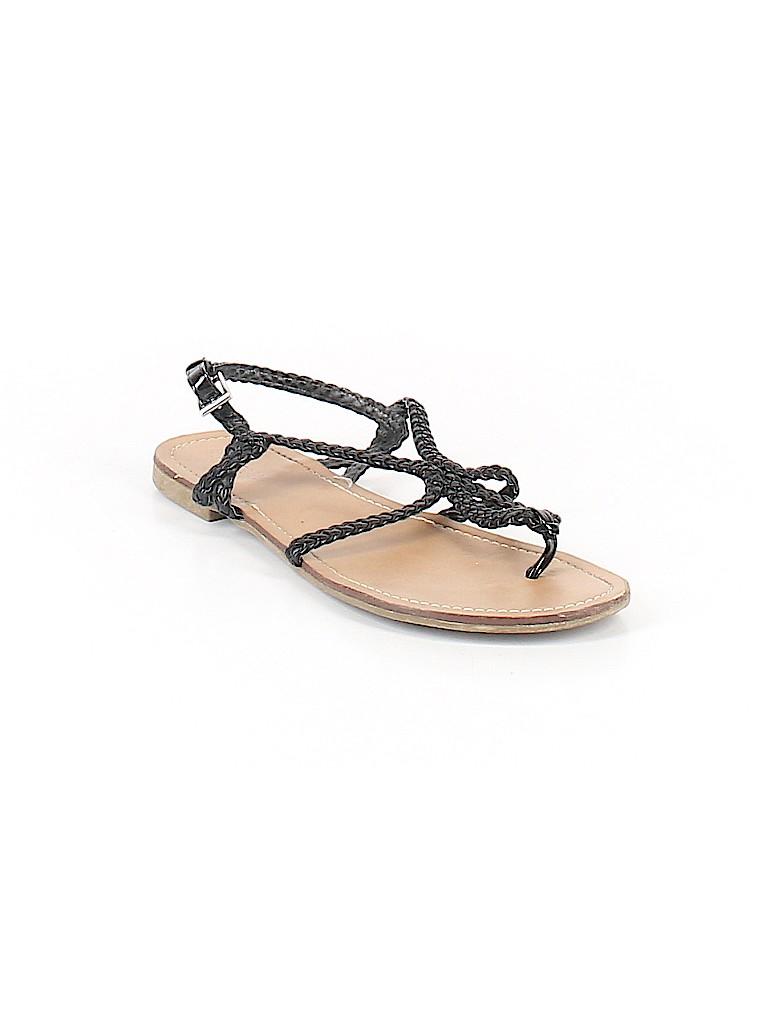 f726d1410db9 Merona Solid Black Sandals Size 8 1 2 - 45% off