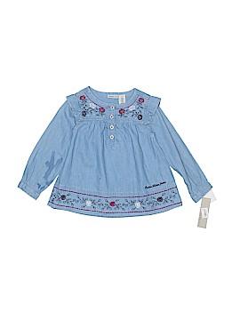 CALVIN KLEIN JEANS Long Sleeve Button-Down Shirt Size 2T