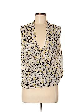 Diane von Furstenberg Sleeveless Silk Top Size 6