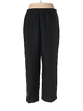 Coldwater Creek Linen Pants Size XXL