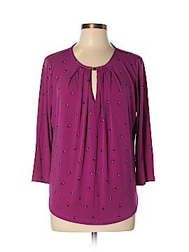 Liz Claiborne 3/4 Sleeve Top Size XL (Petite)